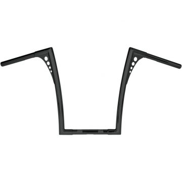 Roland Sands 1 1/4 inch King Ape Hanger Black 19 inch Powder-Coat