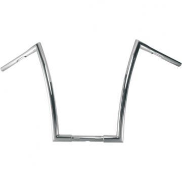 "1 1/4"" TODDS Cycle Strip Handlebars 17 inch Chrome"