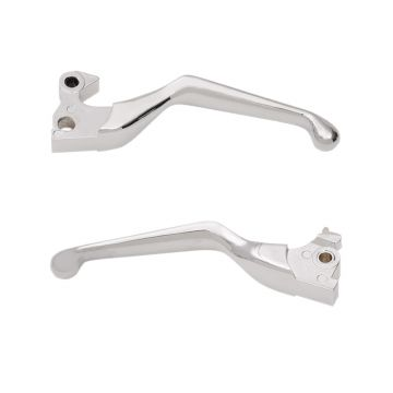 Chrome Smooth Wide Blade Levers for 2014 and newer Harley-Davidson Sportster models