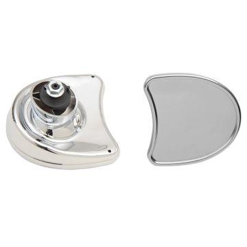 Chrome Fairing Mount Mirrors for 2014 & Newer Harley-Davidson Street Glide models