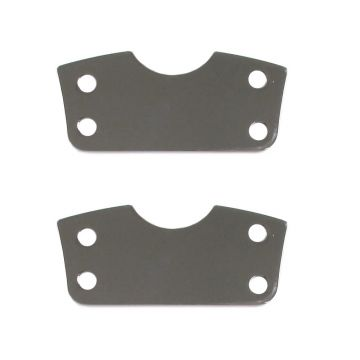 "Chrome Fender Riser Brackets for 21"" Wheel on 2014 & Newer Harley-Davidson Touring models"