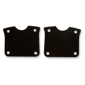 "Black Fender Riser Brackets for 23"" Wheel on 2014 & Newer Harley-Davidson Touring models"