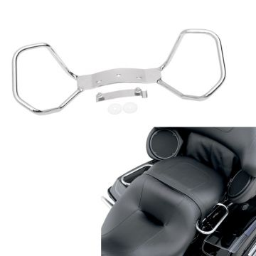Chrome Passenger Hand Rail Kit for 1999-2008 Harley-Davidson Touring models