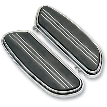 V-Factor Streamliner Styled Chrome Floor Boards for Harley-Davidson Touring models