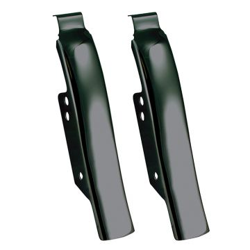 Black Fender-Saddlebag Filler Panels for 1997-2008 Harley-Davidson Touring models
