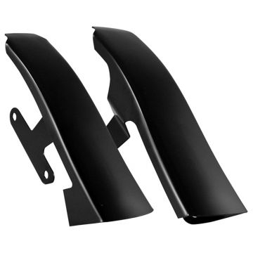 Black Fender-Saddlebag Filler Panels for 2009-2013 Harley-Davidson Touring models