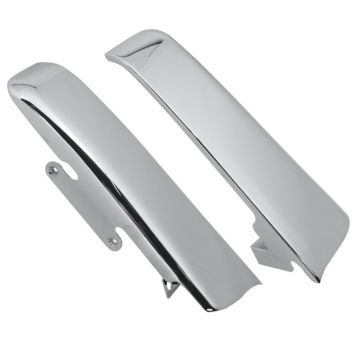 Chrome Fender-Saddlebag Filler Panels for 2014 and newer Harley-Davidson Touring models