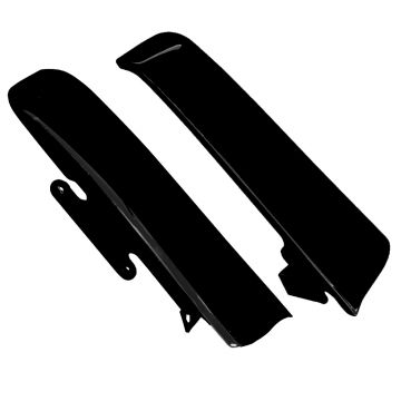 Black Fender-Saddlebag Filler Panels for 2014 and newer Harley-Davidson Touring models