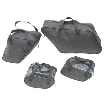 Saddlemen FLH Saddlebag Packing Cube Liner Set Harley Davidson Touring