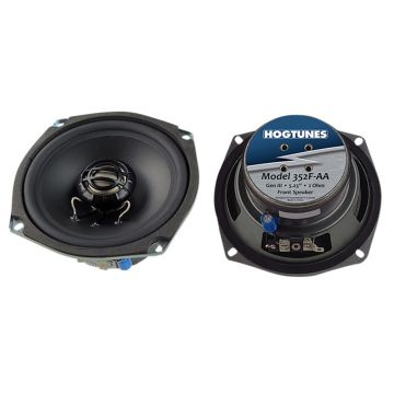 Hogtunes 352F-AA Front Speakers for 2006-2013 Harley-Davidson Electra Glide, Classic, Ultra Classic, Street Glide & Trike models