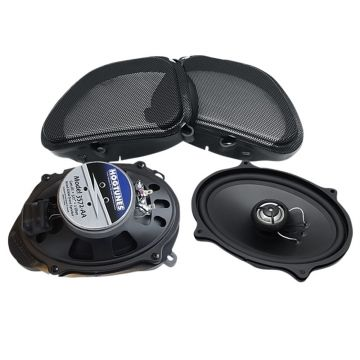 "Hogtunes 5""x7"" 3572.2-AA Front Speakers for 2006-2013 Harley-Davidson Road Glide models"