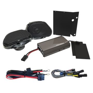 Hogtunes 225 Watt 2 Speaker Amplifier Kit for 1999-2013 Harley-Davidson Road Glide models