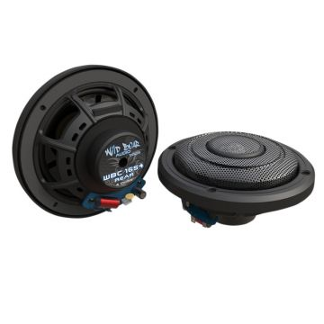 "Wild Boar Audio 150 Watt 4 Ohm 6.5"" Rear Speakers for 2014 and Newer Harley-Davidson Ultra Classic, Ultra Limited, Road Glide Ultra and Trike models"