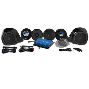Hogtunes 200 Watt 6 Speaker Amplifier Kit for 2014 and newer Harley-Davidson Ultra, Limited and Trike models