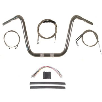 Build Your Own Custom Dyna Wide Glide 2007-2011 BASIC Ape Hangers Handlebar DIY kit