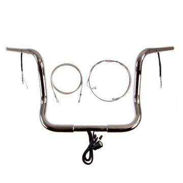Build Your Own Custom Street Glide, Electra Glide, and Ultra Classic 2014-2020 BASIC Ape Hangers Handlebar DIY kit
