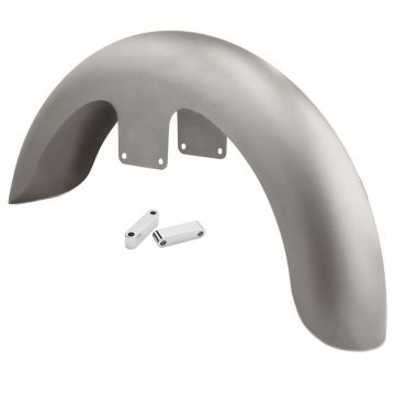 "21"" Wheel Front Fender Kit with Chrome Brackets for 2014 & Newer Harley-Davidson Touring models"