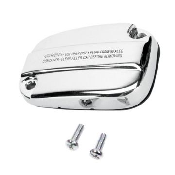 Chrome Front Brake Master Cylinder Cover for 2008 and Newer Harley-Davidson Touring and Trike models