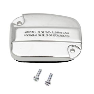 Chrome Front Clutch Master Cylinder Cover for 2014-2016 Harley-Davidson Touring models