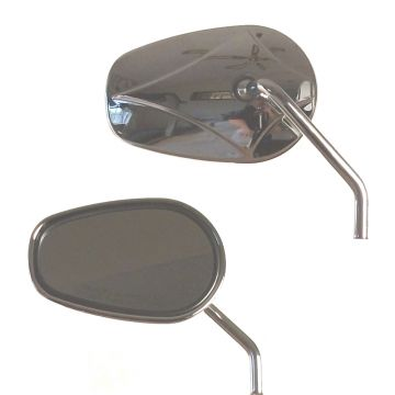 Replacement Tapered Mirrors for 2003 & Newer Harley-Davidson Models