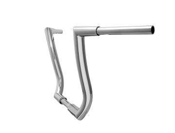 HCC 1 1/2 inch Hell Bent Bagger 16 inch Ape Hanger Chrome