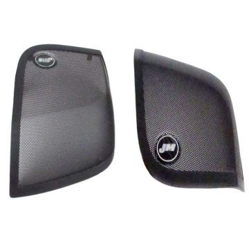 J&M Audio Replacement Saddlebag Speaker Grilles 2014 and Newer Harley Touring models