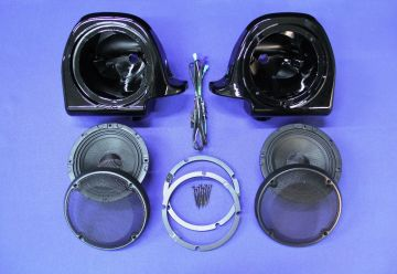 "J&M Audio Rokker 6.71"" Front Lower Speakers for 2006-2013 Harley-Davidson Ultra and Street Glide models"