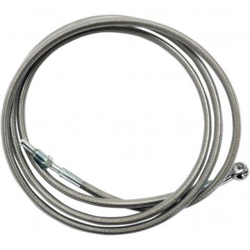 "Stainless Braided 80"" Hydraulic Clutch Line 2014-2016 Harley-Davidson Touring"
