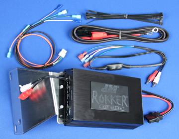 J&M Audio 350 Watt 2 Channel Amplifier Kit for 2006-2013 Harley-Davidson Road Glide models