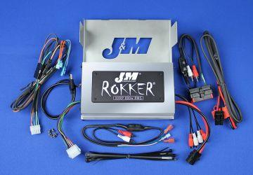 J&M Audio XXRP 800 Watt 4 Channel Amp Kit for 2006-2013 Harley-Davidson Street Glide models