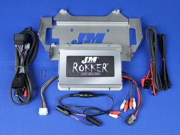 J&M Audio XXRP STAGE 5 800 Watt 4 Channel Amp Kit 2014 and Newer Harley-Davidson Ultra Classic Limited models