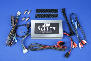 J&M Audio XXRP 800 Watt 4 Channel Universal Amp Kit for 1998-2013 Harley-Davidson models
