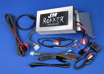 J&M Audio XXRP 800 Watt 4 Channel Amp Kit for 2006-2013 Harley-Davidson Road Glide models