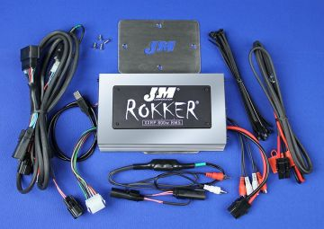 J&M Audio XXRP STAGE 5 800 Watt 4 Channel Amp Kit for 2016 and Newer Harley-Davidson Road Glide Ultra models