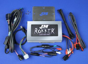 J&M Audio XXRP 800 Watt 4 Channel Amp Kit for 2016 and Newer Harley-Davidson Road Glide Ultra models