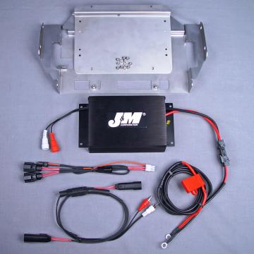 J&M Audio 200 Watt 2 Channel Amplifier Kit for 2014 and Newer Harley-Davidson Street Glide Ultra Classic Trike models