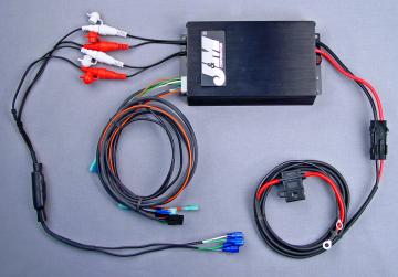 J&M Audio 400 Watt 4 Channel Universal Amplifier Kit for 1998-2013 Harley-Davidson models