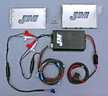 J&M Audio 400 Watt 4 Channel Amplifier Kit for 2006-2013 Harley-Davidson Ultra Classic Limited models