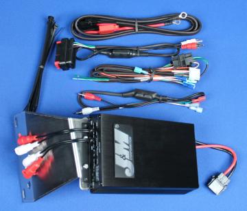 J&M Audio 400 Watt 4 Channel Amplifier Kit for 2006-2013 Harley-Davidson Road Glide models