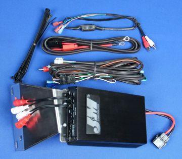 J&M Audio 400 Watt 4 Channel Amplifier Kit for 2011-2013 Harley-Davidson Road Glide Ultra models