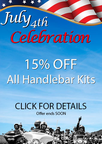 July 4th Celebration Handlebar Kit Sale