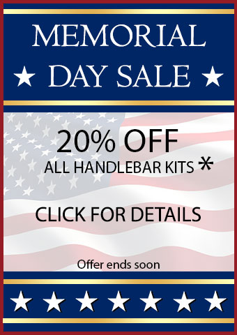 Memorial Day Handlebar Kit Bonus Sale