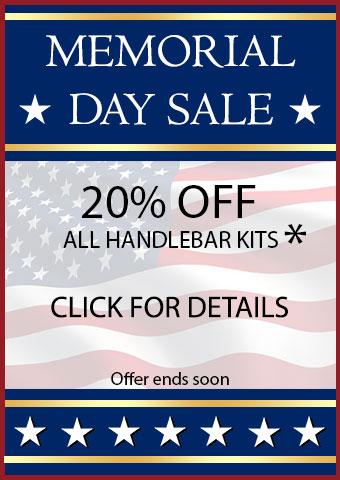 Memorial Day Handlebar Kit Bonus Sale