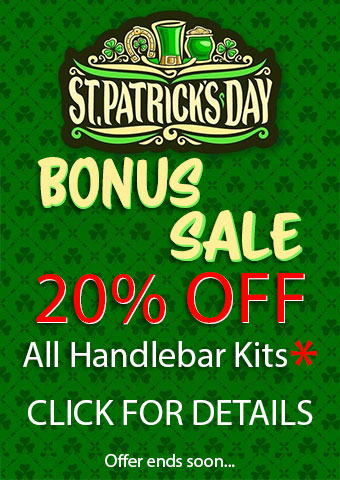 St Patricks Day Handlebar Kit Bonus Sale