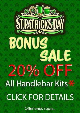 St Patricks Day Handlebar Kit Bonus Sale