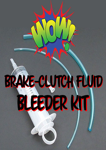 Brake and Clutch Fluid Bleeder Kit