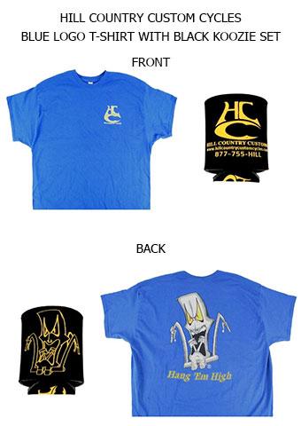 HCC Logo T-Shirt Koozie Set