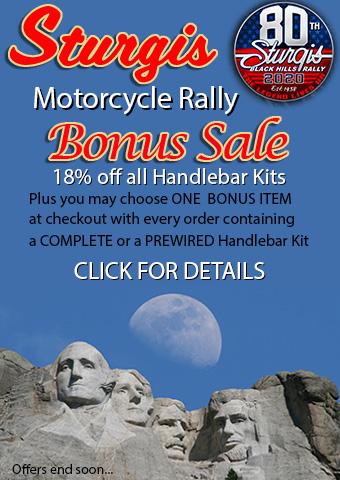 Sturgis Rally Handlebar Kit Bonus Sale