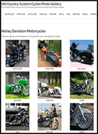 Hill Country Custom Cycles Photo Gallery
